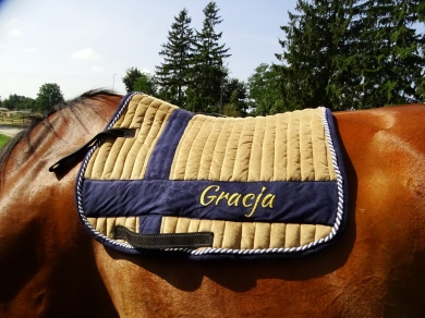 Saddle pad for Gracja